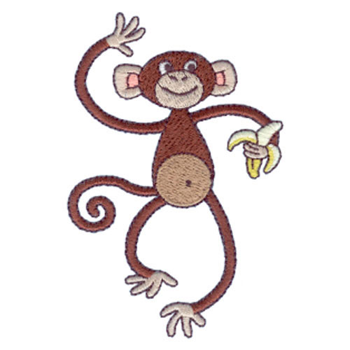 DESIGN EMBROIDERY FREE MONKEY