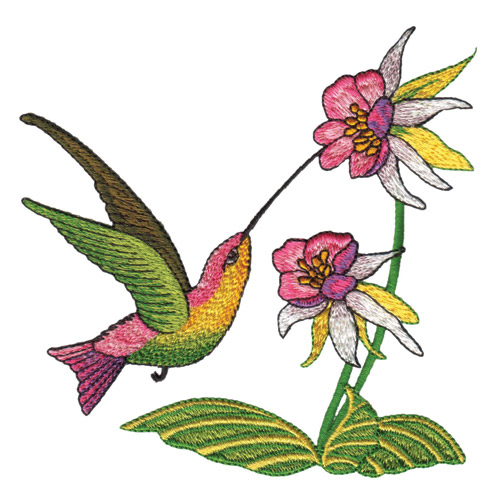Hummingbirds Machine Embroidery Designs Free Embroidery