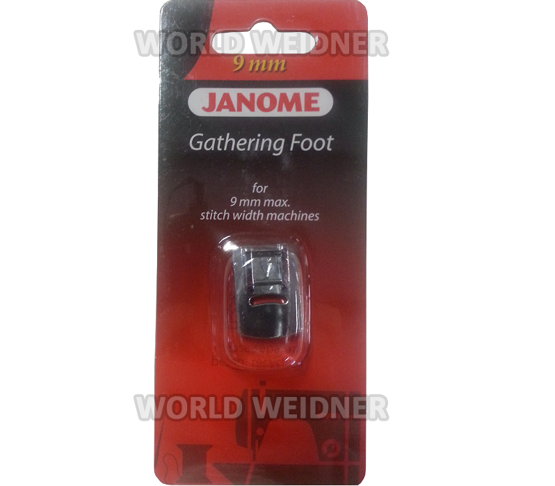gathering foot for janome sewing machine