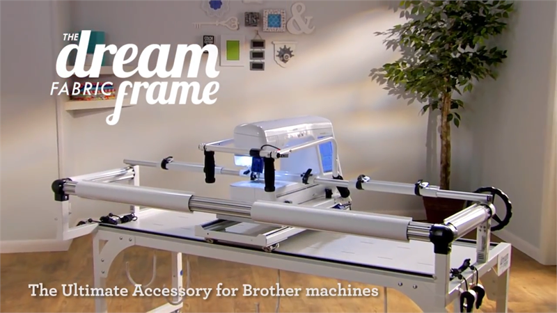 Brother Saqcf100s The Dream Fabric Frame