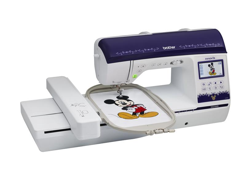 Brother Innov Is Nq3500d Embroidery And Sewing Machine