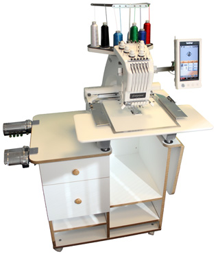 embroidery machine table