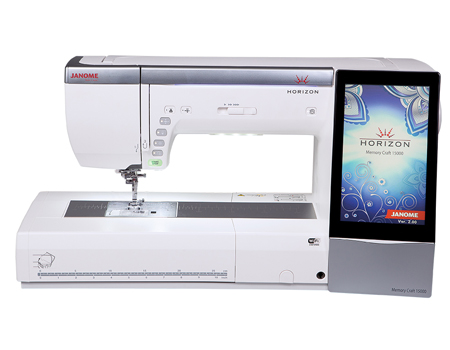 Janome Horizon Memory Craft 15000 Embroidery And Sewing