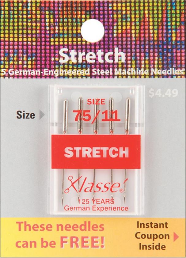stretch sewing machine needles