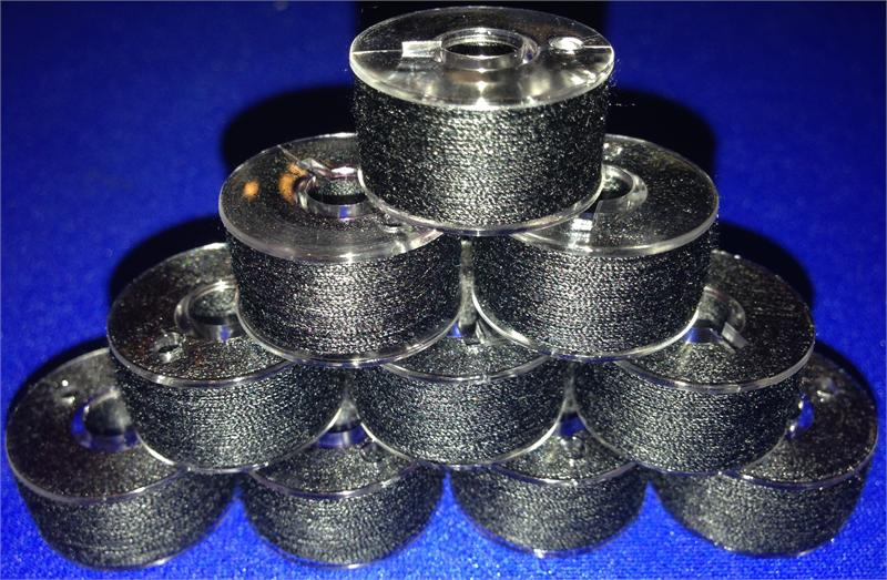 20 Prewound 90 Weight Thread Embroidery Bobbins Size A Class 15 Style 15J For Brother Baby Lock SA156