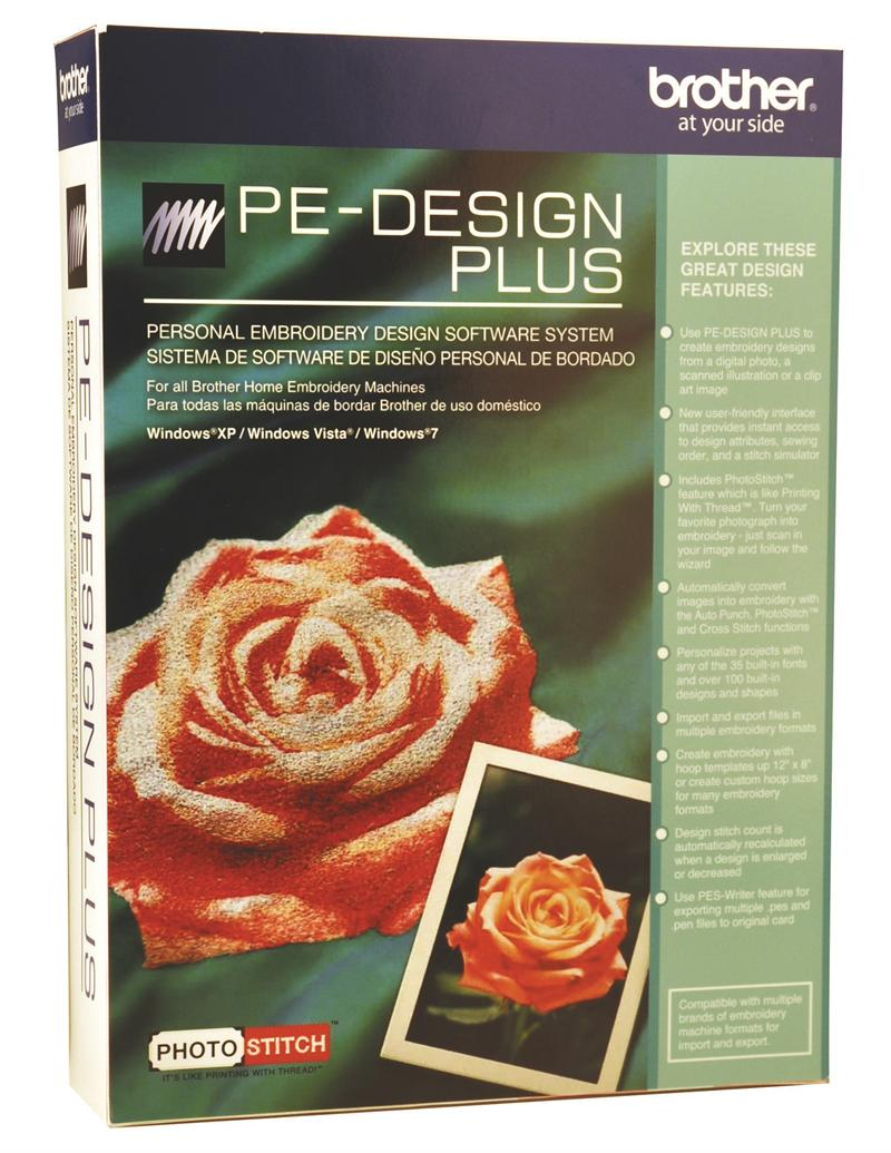 Brother Pe Design Plus Embroidery Software With Photostitch