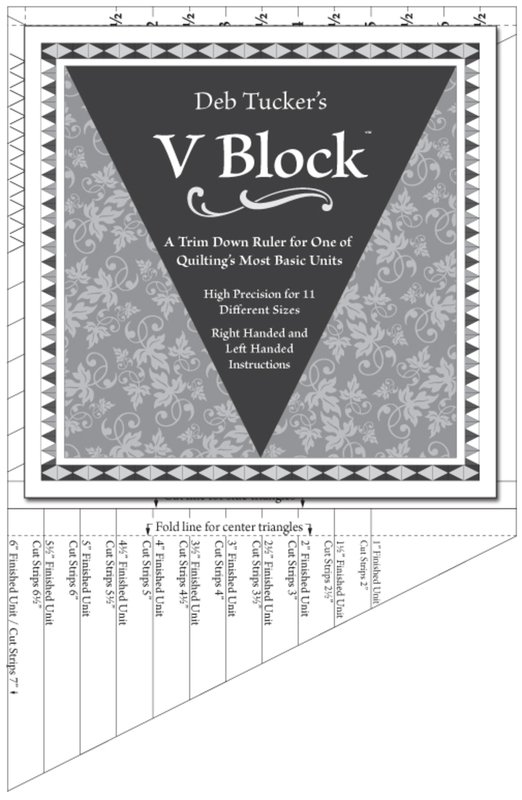 Studio 180 Design V Block Ruler