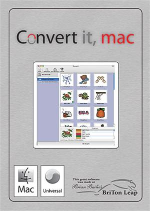 Embrilliance Convert It Mac Includes Free Thumbnailer Embroidery