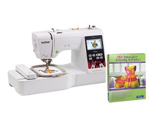 BROTHER BP1400E 6x10 Embroidery Machine With Color Screen /& USB